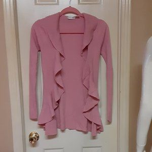 Energie Pink Open Ribbed Sweater